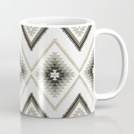 Beige Aztec Coffee Mug