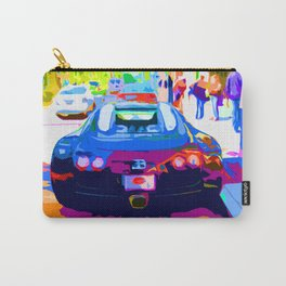 Bugatti Veyron On Rodeo  Carry-All Pouch