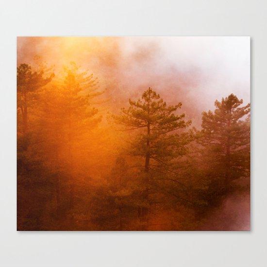 Sunrise Hug Canvas Print