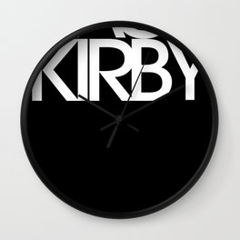 Classic : Jack Kirby Black  Wall Clock
