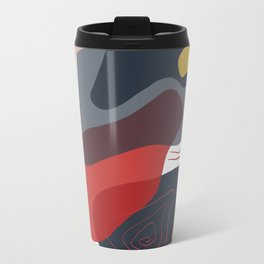 Modern minimal forms 8 Travel Mug