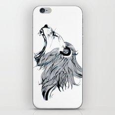 Growling Lion  iPhone & iPod Skin