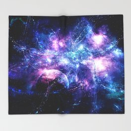 Thunderstorm Throw Blanket