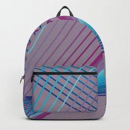 Gradient Triangles Backpack