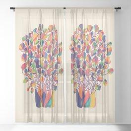 felicitous Sheer Curtain