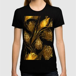 24 Karat Feathers T-shirt