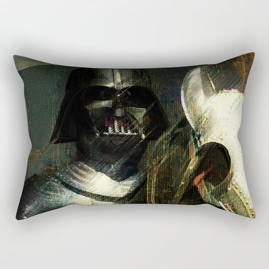 Knight Vader  Rectangular Pillow