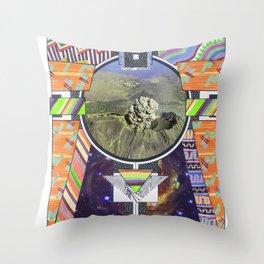 Temple Of Doom (2011) Throw Pillow