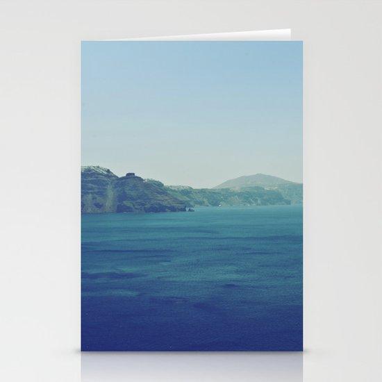 Greek Island Blues Stationery Cards