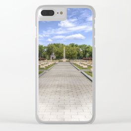 Russian War Graves Budapest Clear iPhone Case