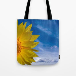 Concept Sunflower Greetingcards Tote Bag