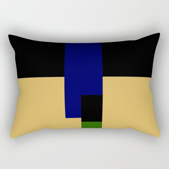 rectangle play Rectangular Pillow