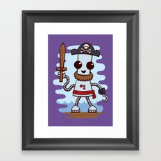 Pirate Ned Framed Art Print