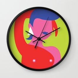 That Eighties Woman Wall Clock