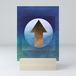 Arrow Composition II Mini Art Print
