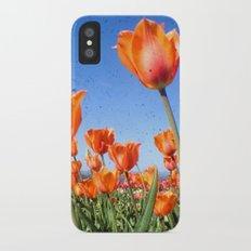 Orange Crush iPhone X Slim Case