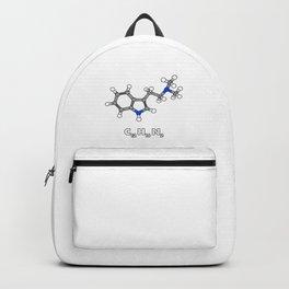 DMT Molecule Hallucinogenic design Backpack