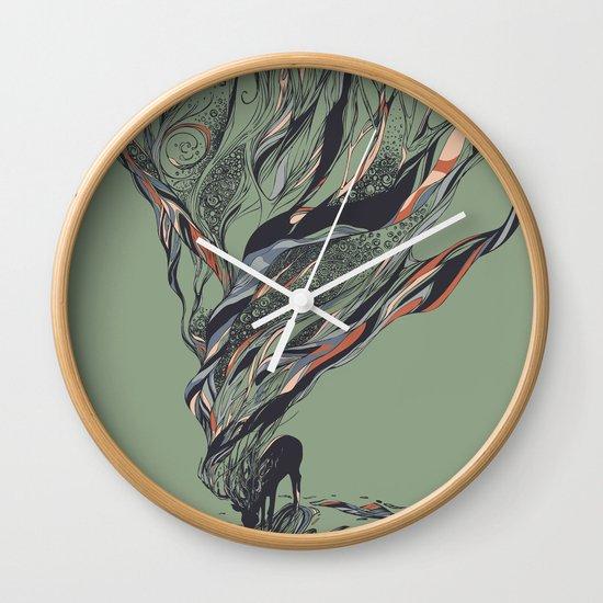 Dream Again Wall Clock