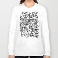 stained glass Long Sleeve T-shirts featuring glass stained by Raennon Hatch
