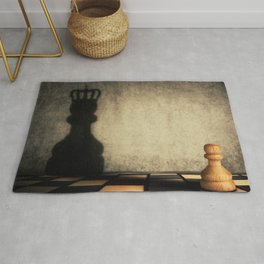 pawn glorification Rug