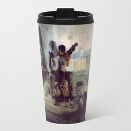 The Banjo Lesson by Henry Ossawa Tanner Travel Mug
