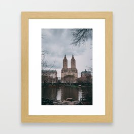New York City Central Park Framed Art Print