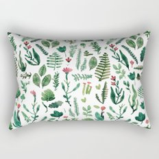white pure nature Rectangular Pillow