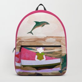 When dolphins are around 7 Backpack