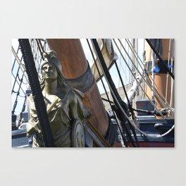 siren of the sea Canvas Print
