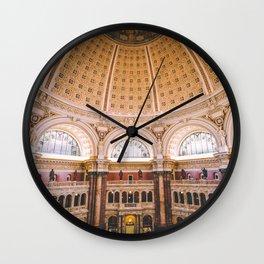 Main Reading Room - Library of Congress Wall Clock