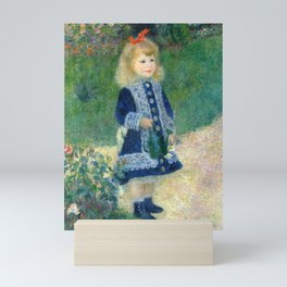 Pierre-Auguste Renoir Girl with the Watering Can Mini Art Print