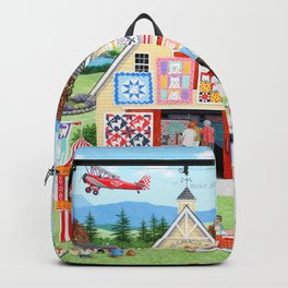 The Calico Cat Quilt Shop Backpack