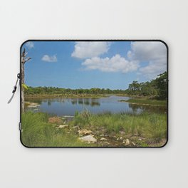 The Quiet Speaks the Truth Laptop Sleeve