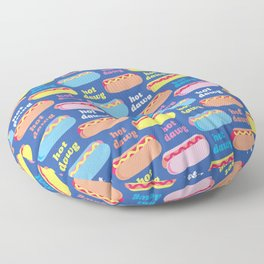 Hot Dawg Floor Pillow