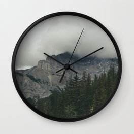 Road to Banff Wall Clock