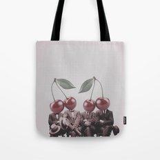 Cherry Mugshot Tote Bag