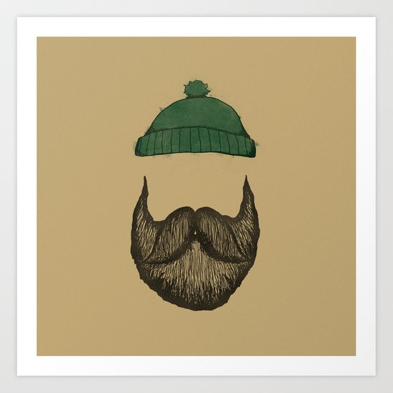 The Logger Art Print