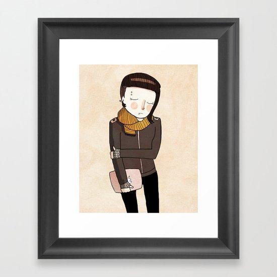 Lisbeth Framed Art Print