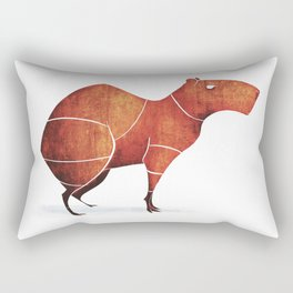 capybara Rectangular Pillow