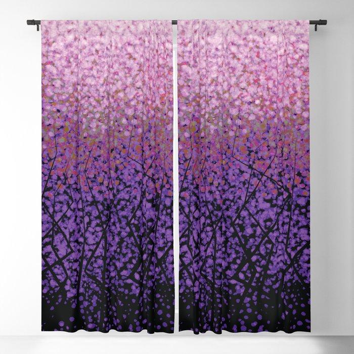 Plum Blossom Tree Grove Blackout Curtain