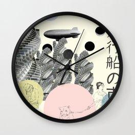 City of Airships Wall Clock