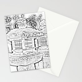 Ghost Lantern Stationery Cards