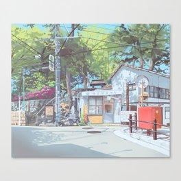 Kanagawa Police Box Canvas Print