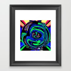 Dark Star 72 Framed Art Print