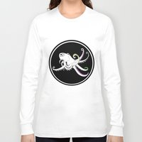 octopus Long Sleeve T-shirts featuring Octopus by mailboxdisco