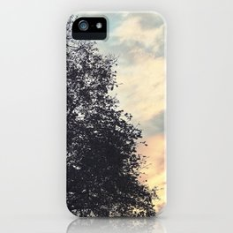 Emptiness Dancing iPhone Case