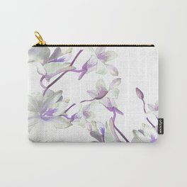 Branches with White Orchids Carry-All Pouch