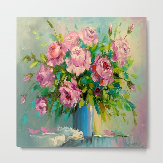 A bouquet of roses Metal Print