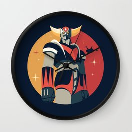Grendizer Goldrake Wall Clock