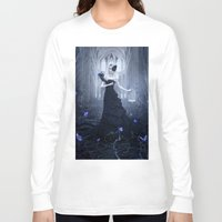 butterflies Long Sleeve T-shirts featuring Butterflies by Whendell